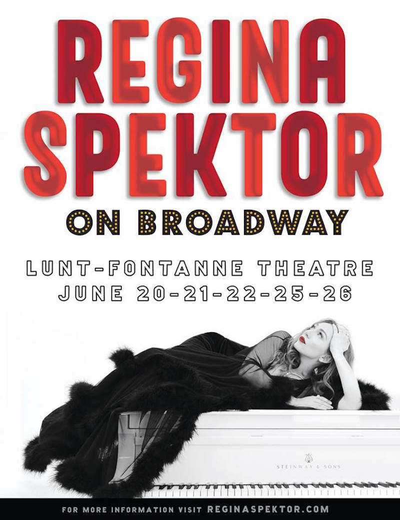 regina spektor live on broadway tour dates tickets information june