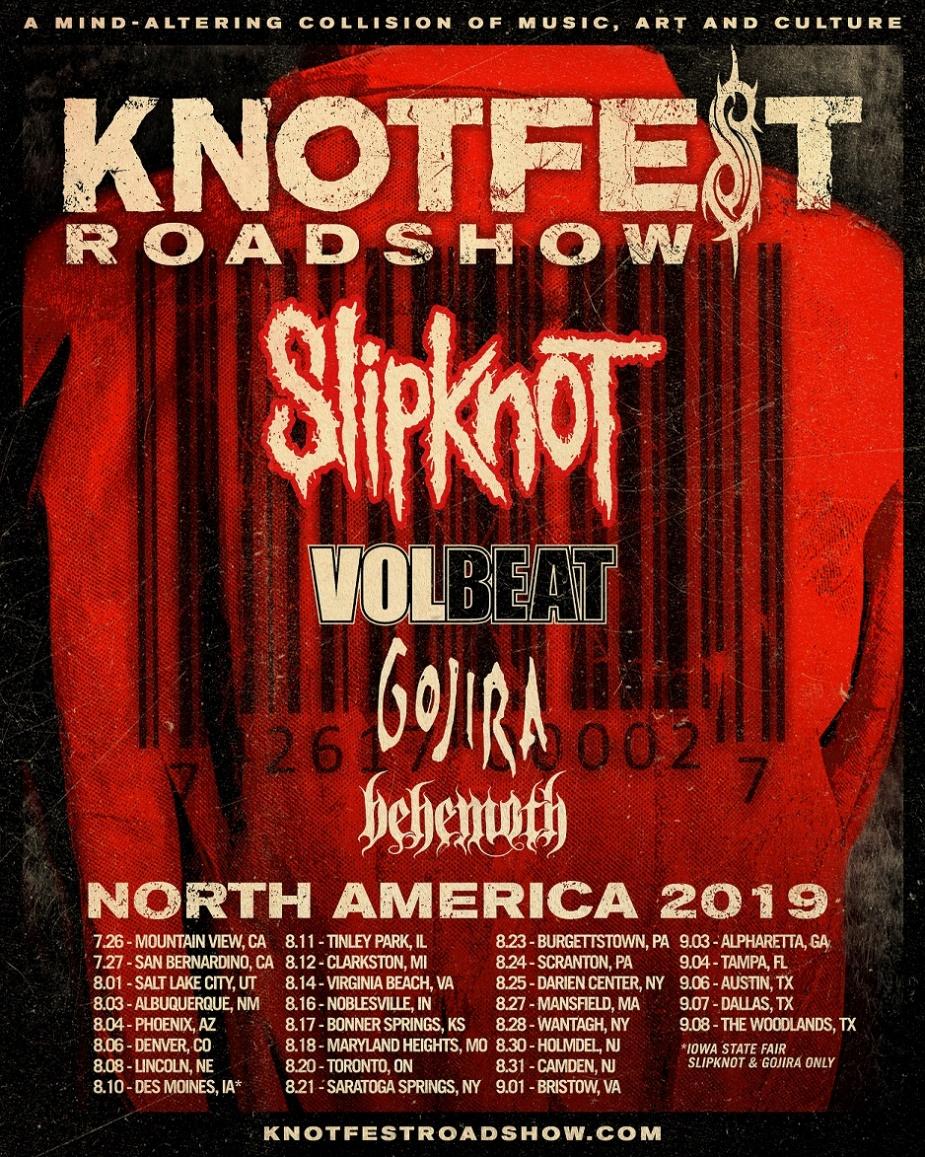 Slipknot Knotfest Roadshow