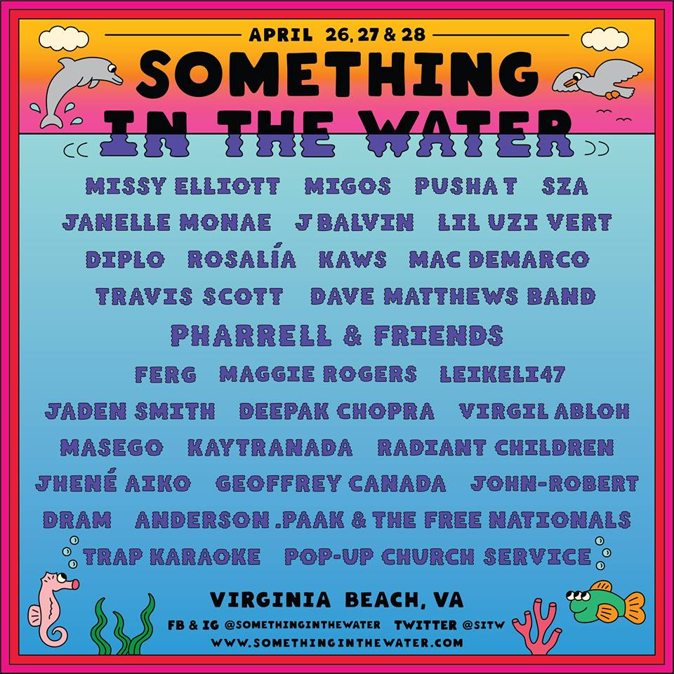 Something in the Water Fest 2019