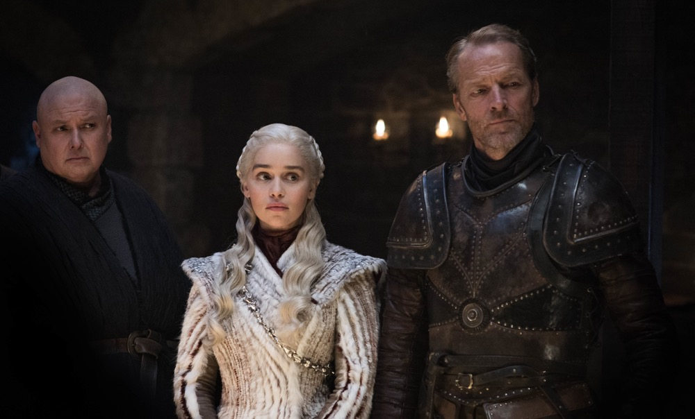 Emilia Clarke, Iain Glen, Game of Thrones
