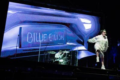 Billie Eilish at Coachella 2019, photo by Debi Del Grande