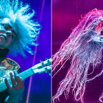 Buzz Osborne and Rob Zombie