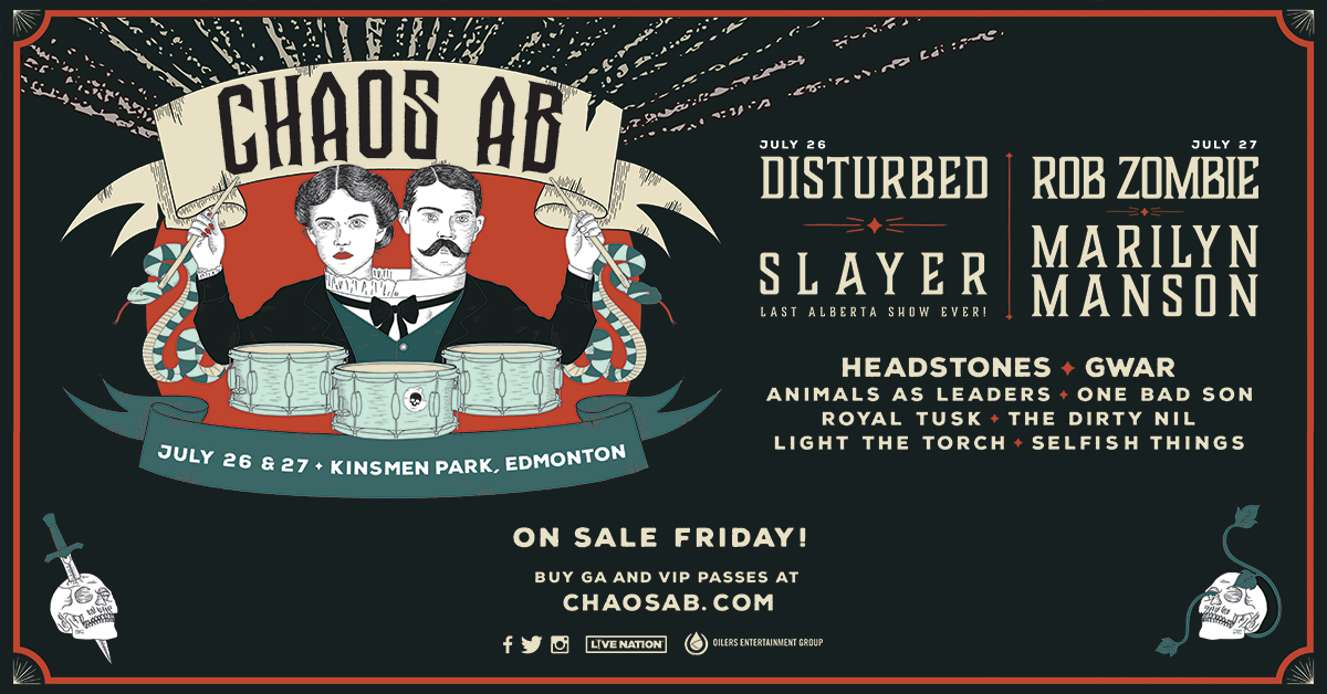 Chaos AB festival poster