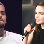 Chris Brown and CHVRCHES (photo by Philip Cosores)