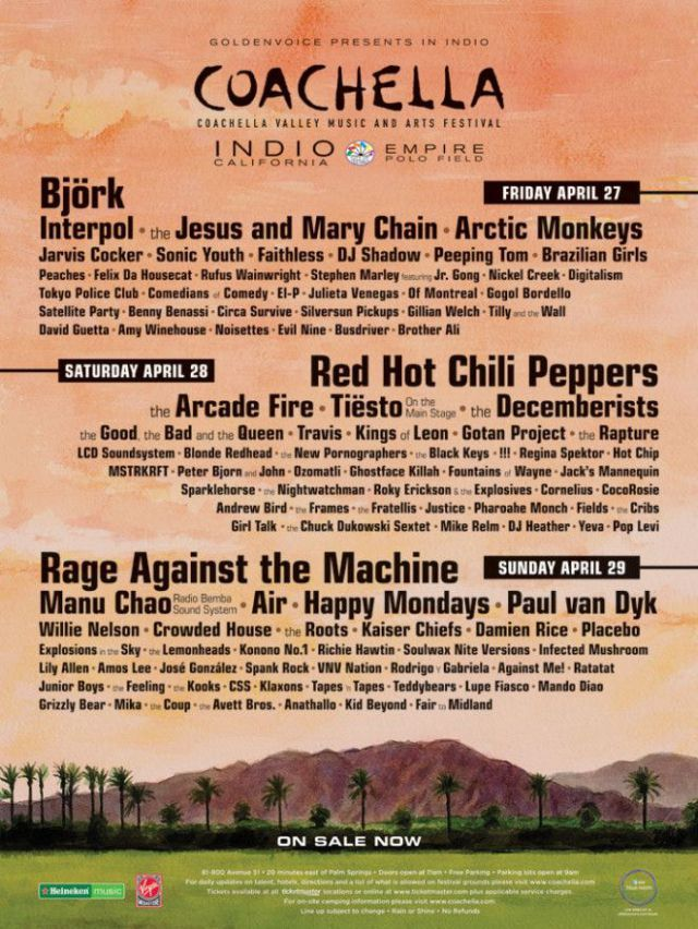 Coachella Poster 2007