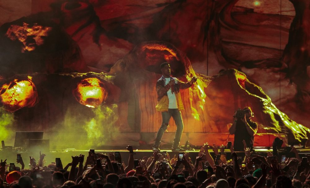 Coachella, Kid Cudi, Goldenvoice, Crowd Shot