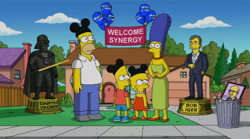 Disney+ Simpsons