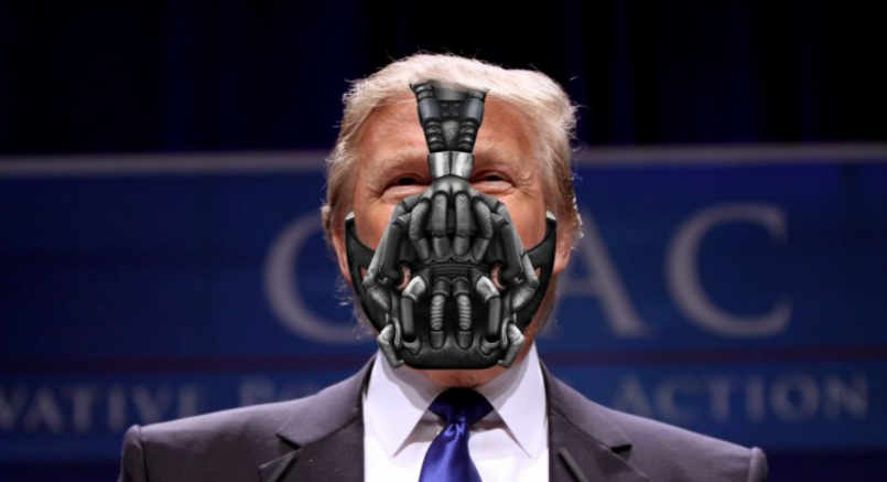 Donald Trump as Bane