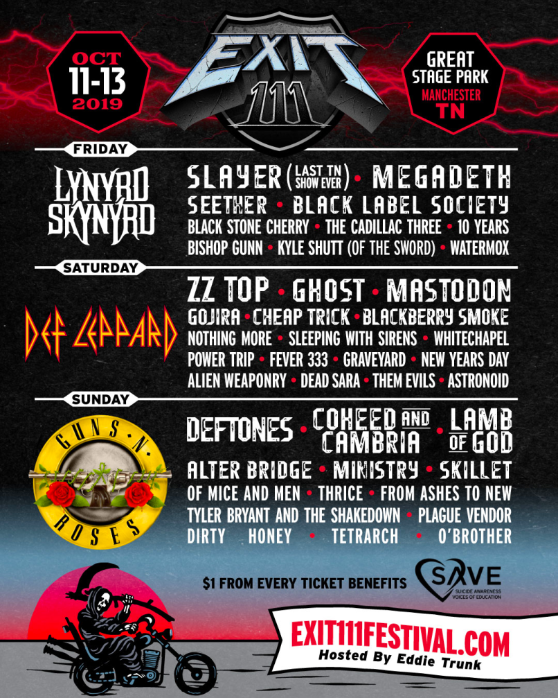Exit 111 Festival Poster