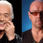 Jimmy Page and Jason Bonham