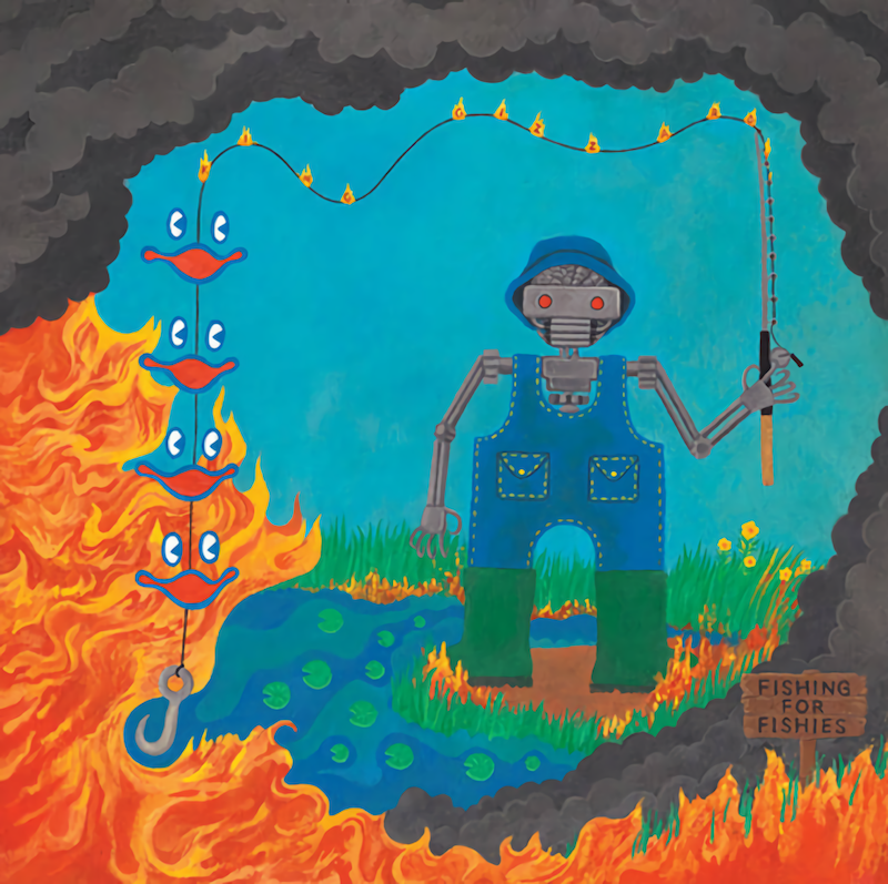 King Gizzard & The Lizard Wizard share new album Fishing for Fishies album cover artwork