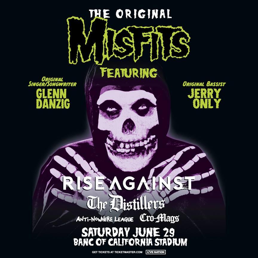 Misfits LA Show Poster