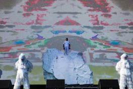 Pusha T at Coachella 2019, photo by Debi Del Grande