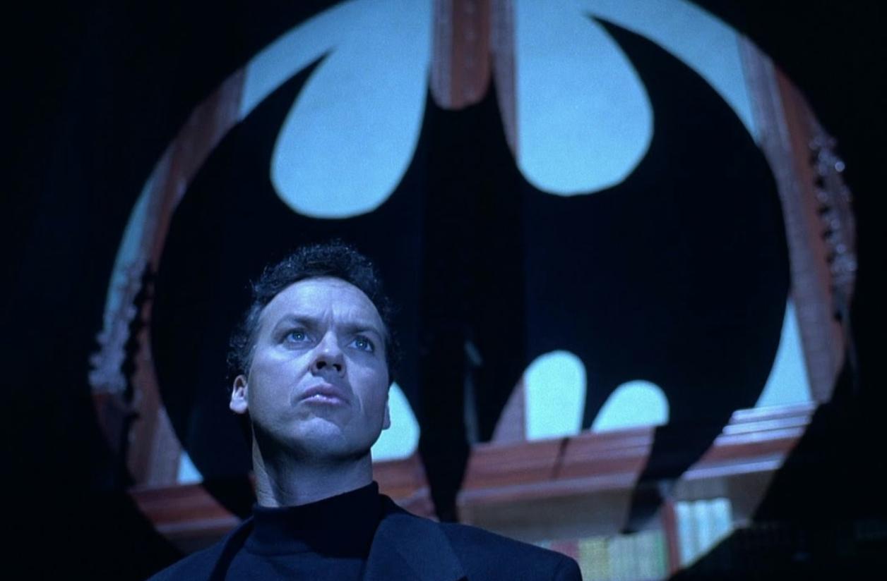Michael Keaton, Batman Returns, Batman Marathon, Bat Signal