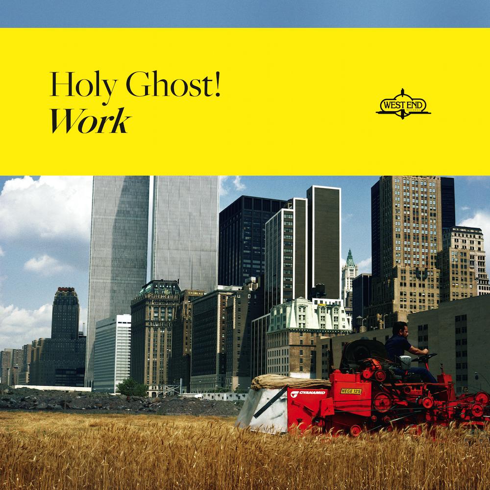 holy ghost! work album artwork cover