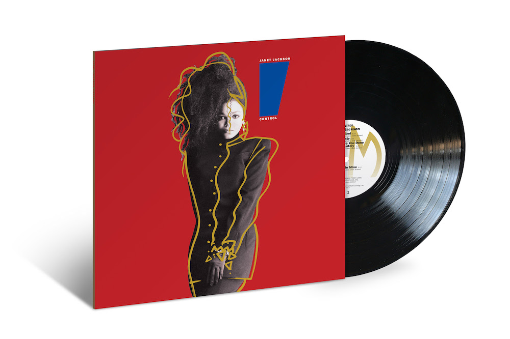 janet jackson control vinyl reissue first time black Janet Jacksons Control to be reissued on vinyl for the first time since 1986