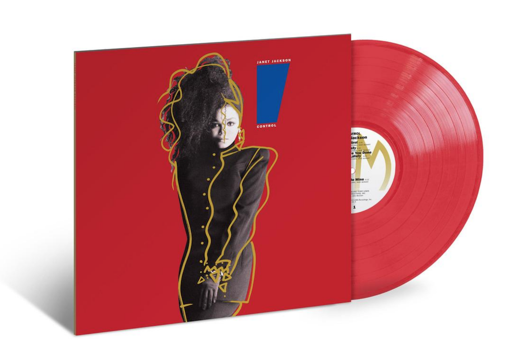 janet jackson control vinyl reissue red Janet Jacksons Control to be reissued on vinyl for the first time since 1986