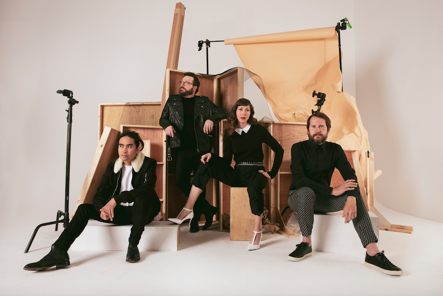 silversun pickups photo by Claire Marie Vogel new album widow's weeds it doesn't matter why stream