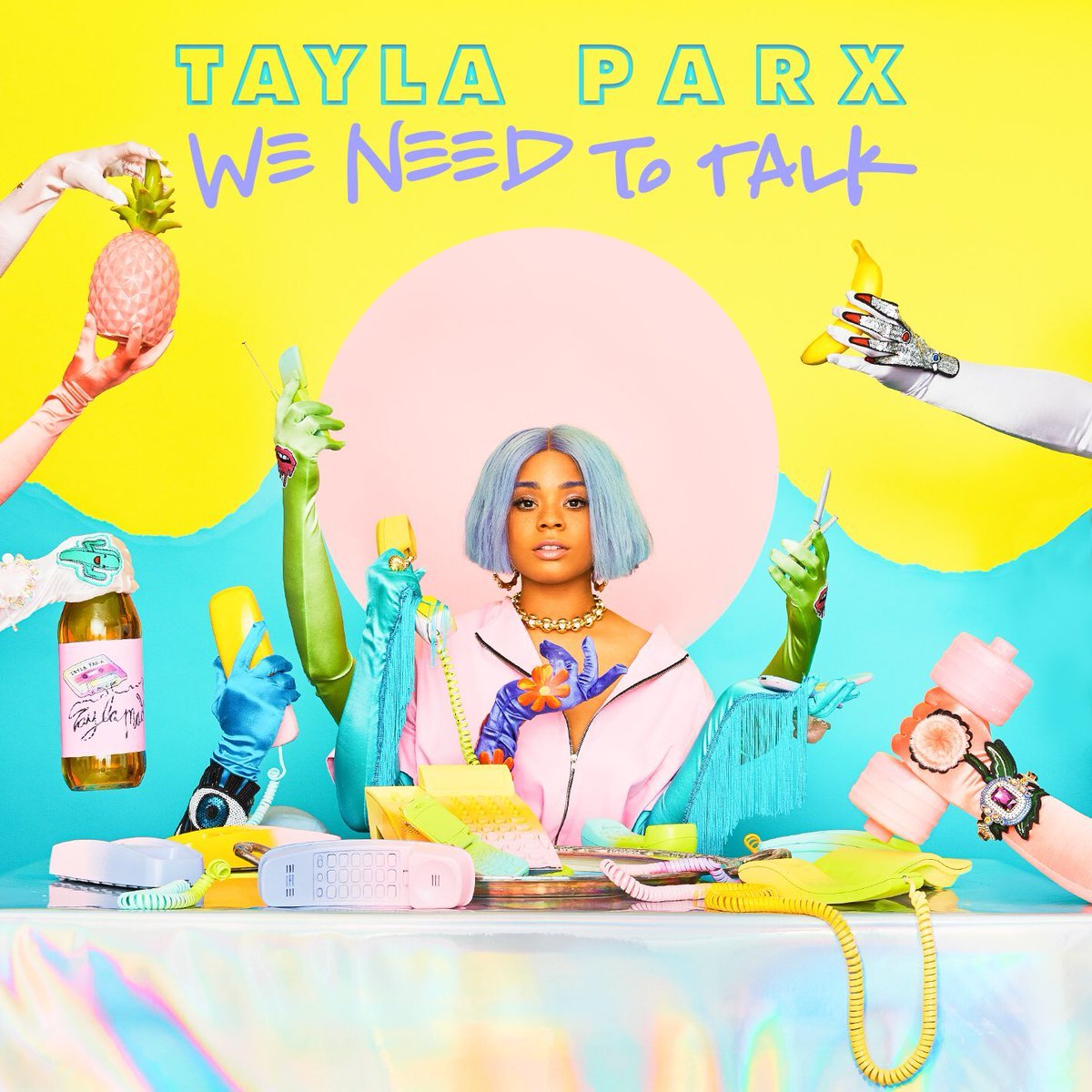 tayla prax we need to talk album cover artwork stream