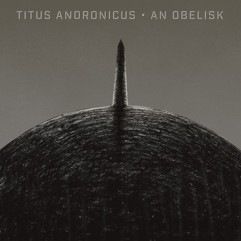 titus andronicus an obelisk album cover artwork