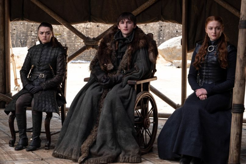 Game of Thrones, Bran Stark, Sansa Stark, Arya Stark, HBO