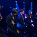 "BTS perform ""Make it Right"" on Colbert"
