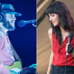 Bon Iver (Philip Cosores) and Sharon Van Etten (Amy Price)