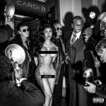 Cardi B Press artwork