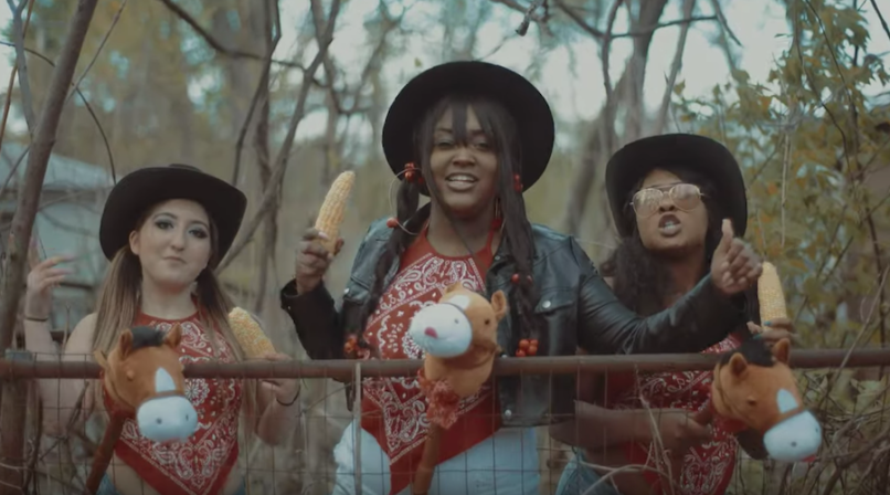 CupcakKe old town hoe music video lil nas x old town road remix