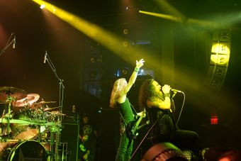Death Angel at NYC's Playstation Theater