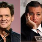 Jim Carrey and Ted Cruz