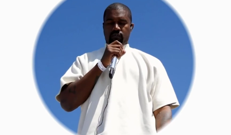 "Kanye performs ""Hey Mama"" at Sunday Service"