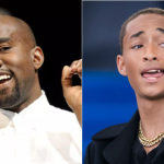 Kanye West and Jaden Smith