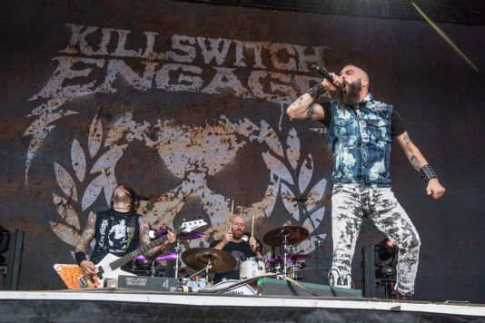 Killswitch Engage at Sonic Temple Festival