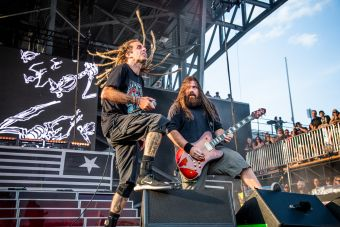 Lamb of God at 2019 Sonic Temple Festival