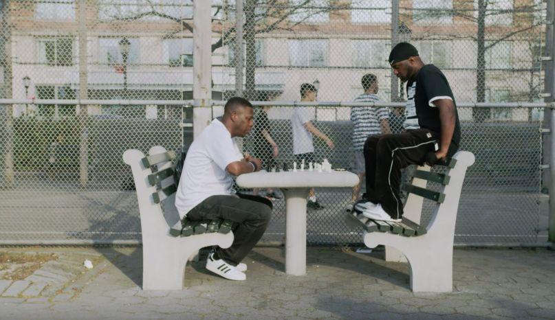 Masta Killa GZA of mics and men bonus clip premiere wu-tang clan chess park