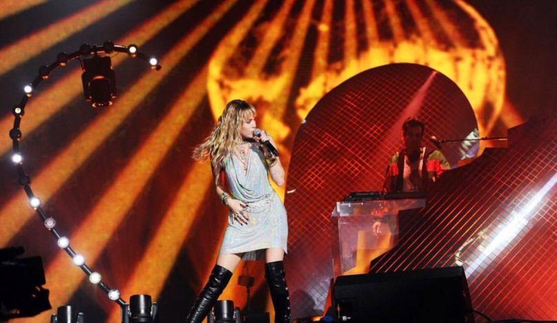 Miley Cyrus at BBC 1's Big Weekend
