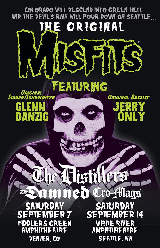 Misfits Denver Seattle Poster