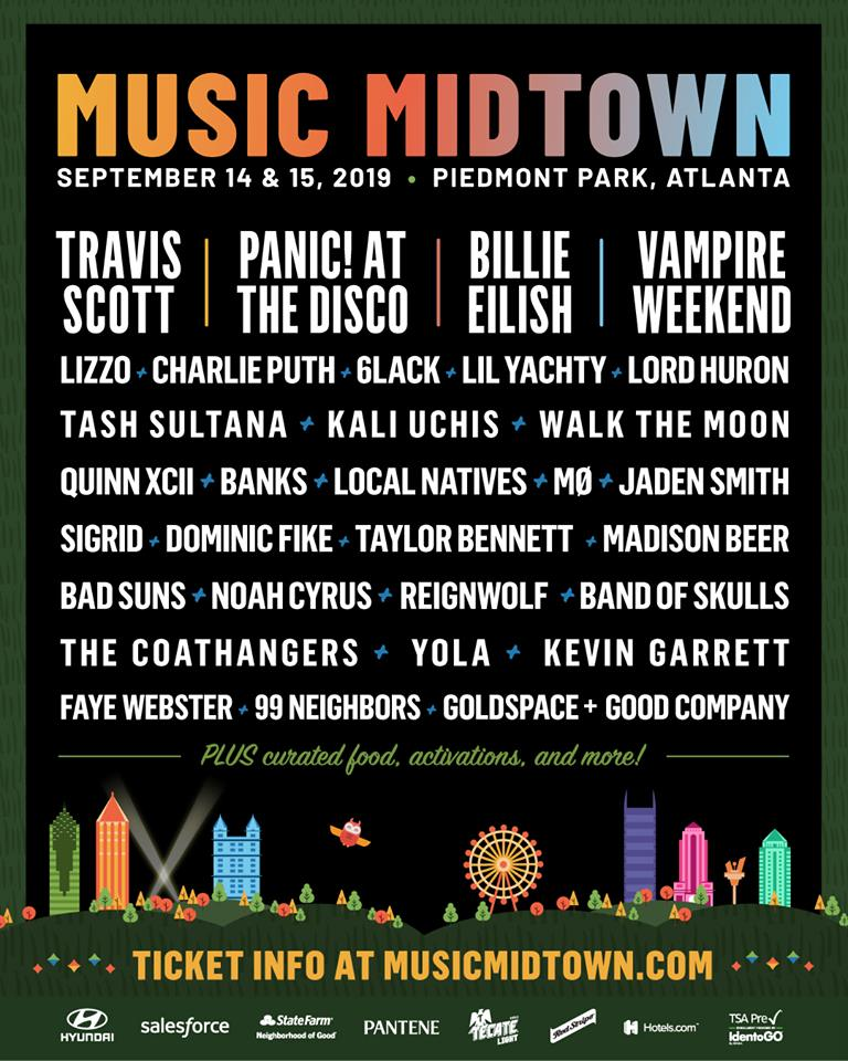 Music Midtown 2019 lineup