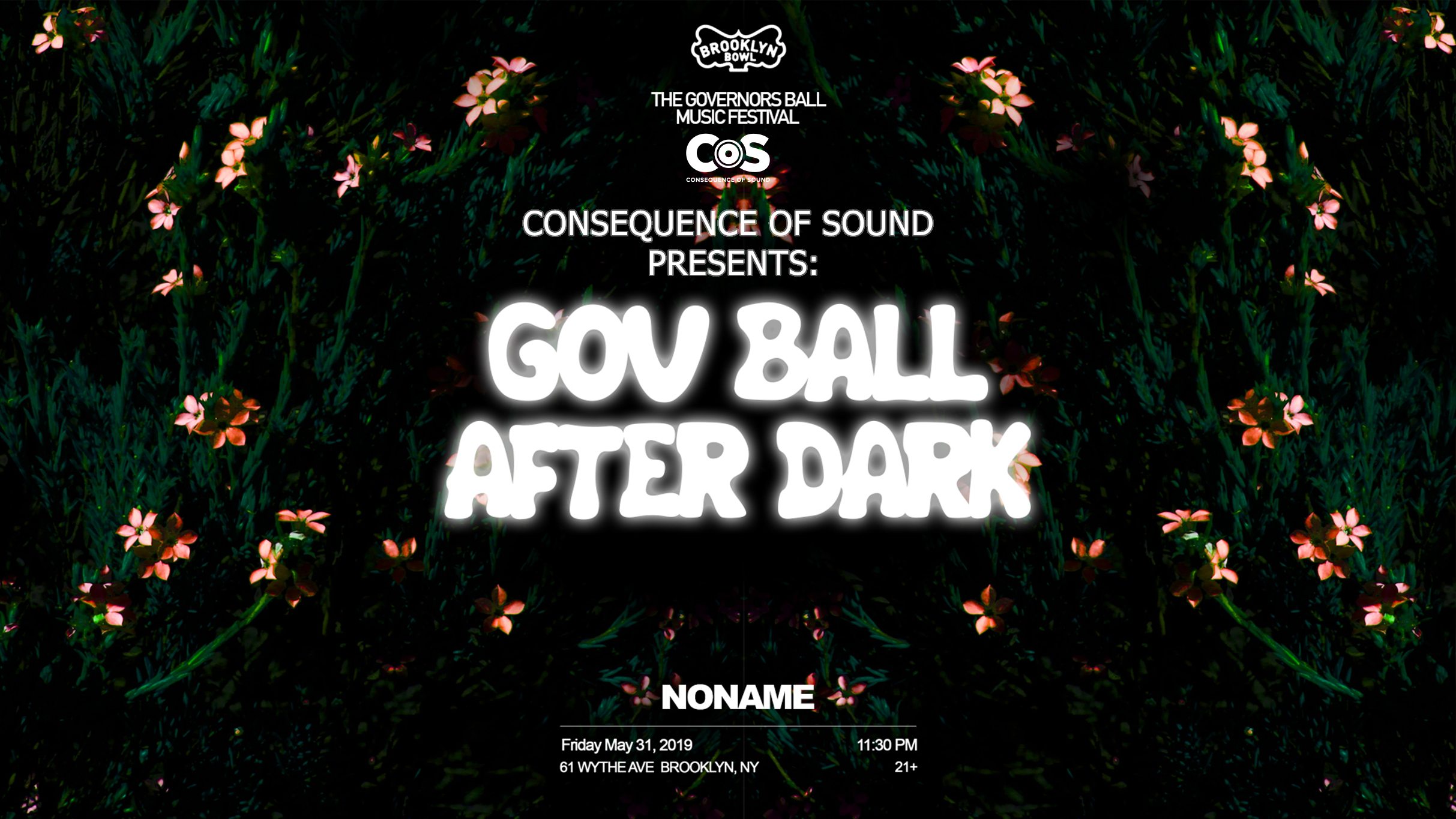 Noname Gov Ball After Dark