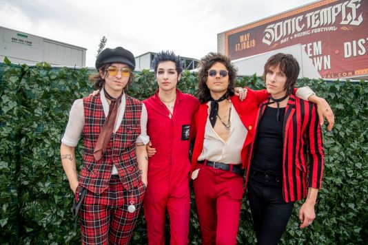 Palaye Royale at 2019 Sonic Temple