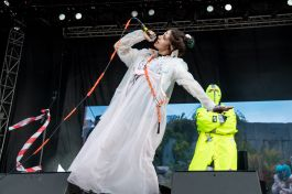Pussy Riot at 2019 Sonic Temple Festival