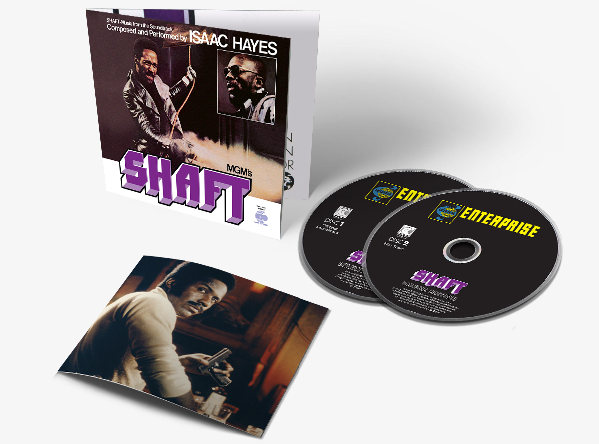 Shaft deluxe edition soundtrack reissue