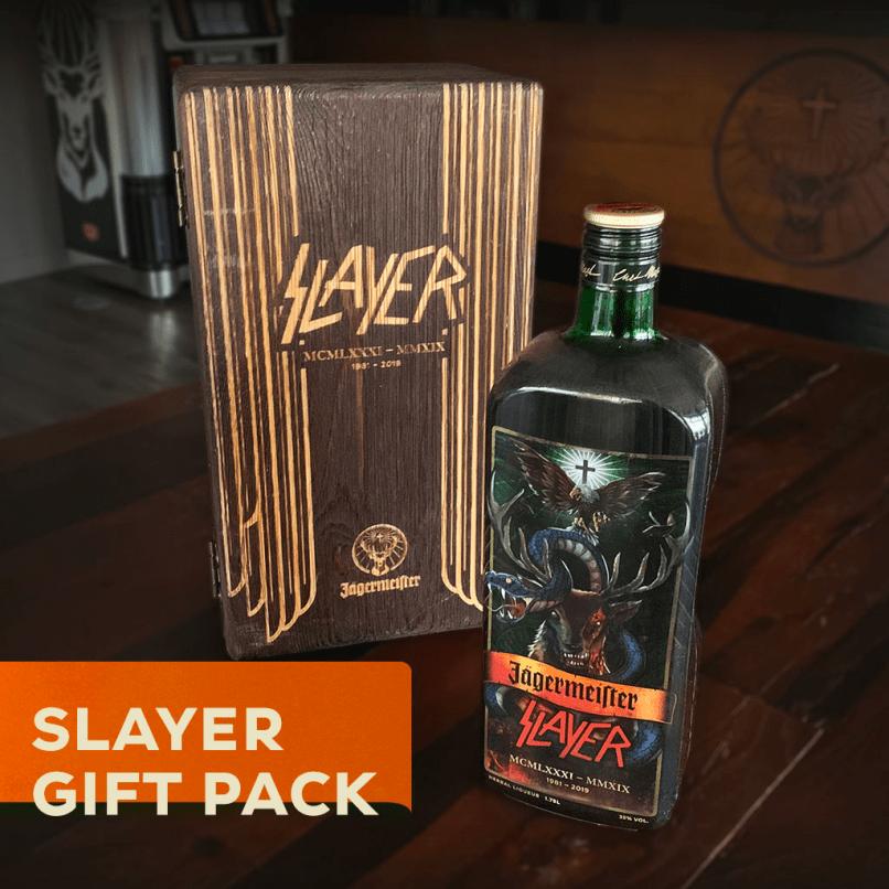 Slayer Custom Bottle Jagermeister
