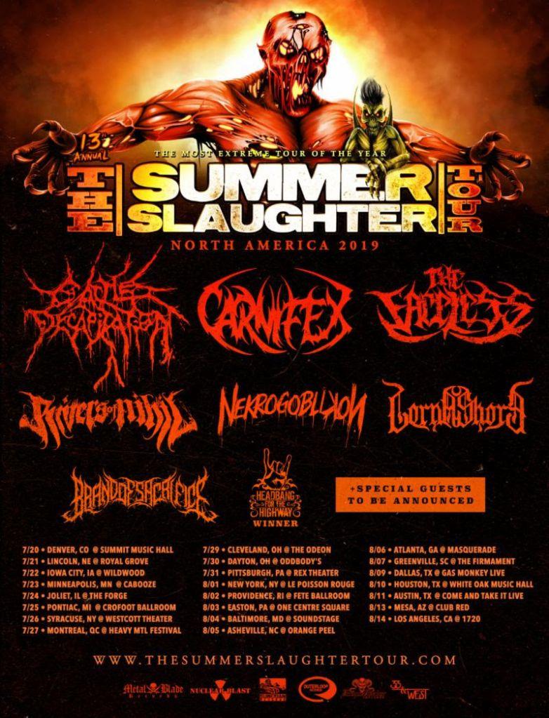 Summer Slaughter poster