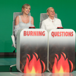 Taylor Swift on Ellen DeGeneres Burning questions tv interview