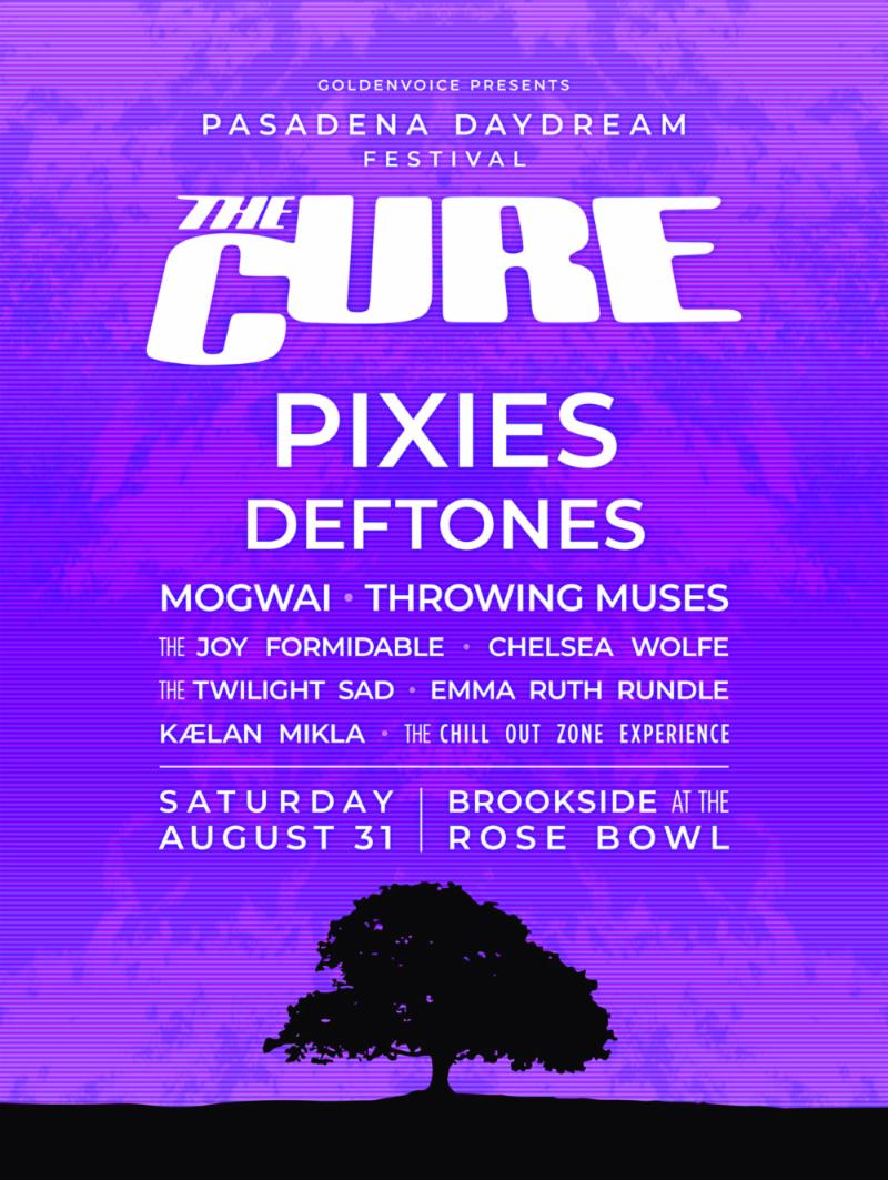 The Cure Festival Pasadena