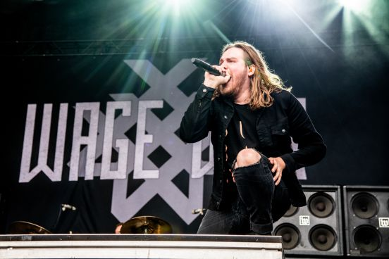 Wage War at 2019 Sonic Temple Festival