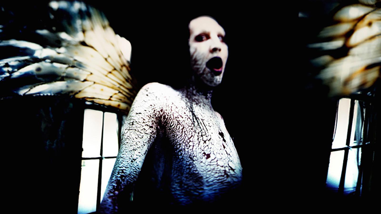 Marilyn Manson Antichrist Superstar Artwork