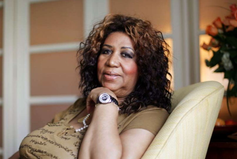 aretha franklin will found discovered cushion couch house